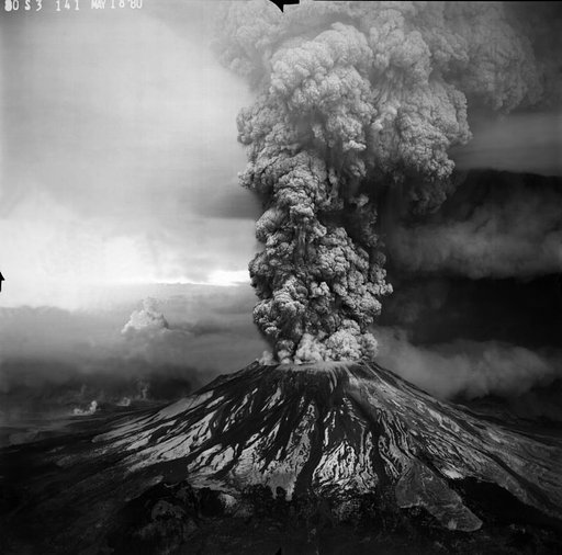 Mount St. Helens Eruption in 1980
