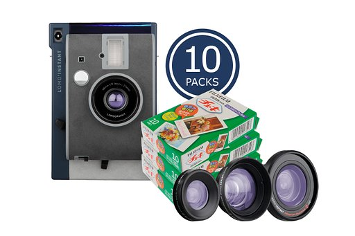 Save up to 20% on Instax films with Lomo'Instant Lake Tahoe + Lenses bundles!