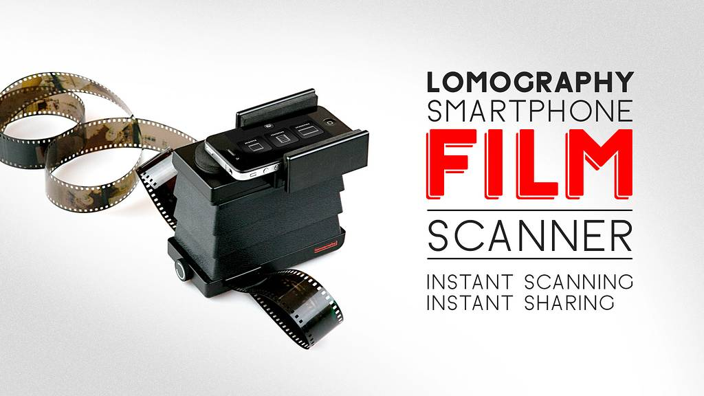 Introducing The New Lomography Smartphone Film Scanner