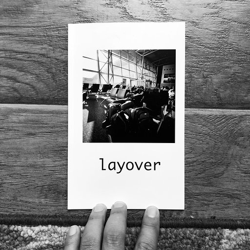 Layover: A Photozine by Edward Conde