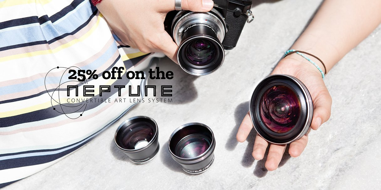 Save a Massive 25% on Our Neptune Convertible Lens System!