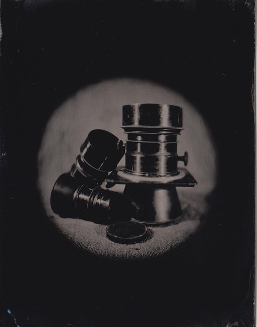 John Brewer: Wetplate Experiments with the Daguerreotype Achromat 2.9/64 Art Lens