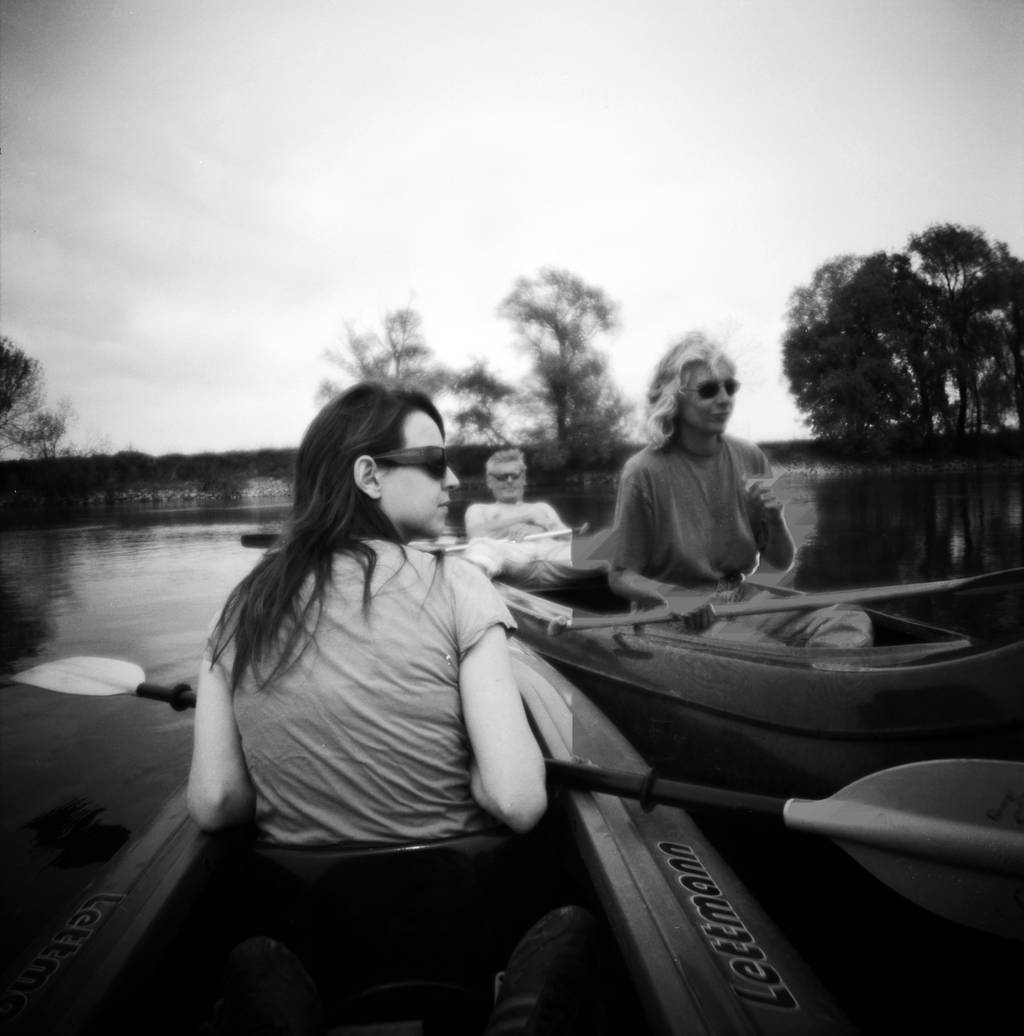 Paddling On The Donau River