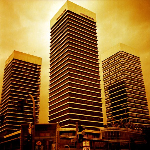 Impressive Snapshots of Architecture Taken with the Lomography Redscale XR 50-200 120