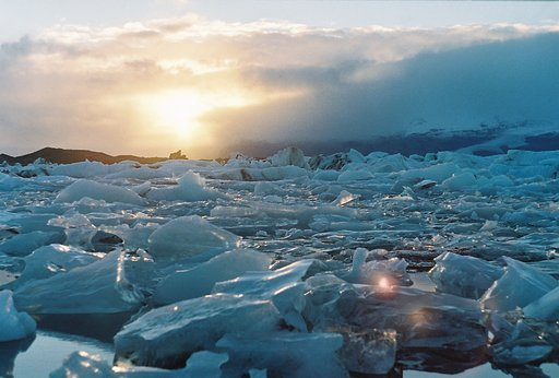 Photo Stories: Glacier Bay at Sunset by whatisphotography