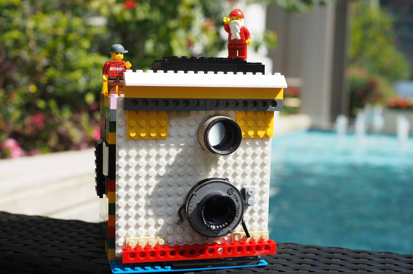 Albertino and his Instant Camera Made Out of LEGO · Lomography