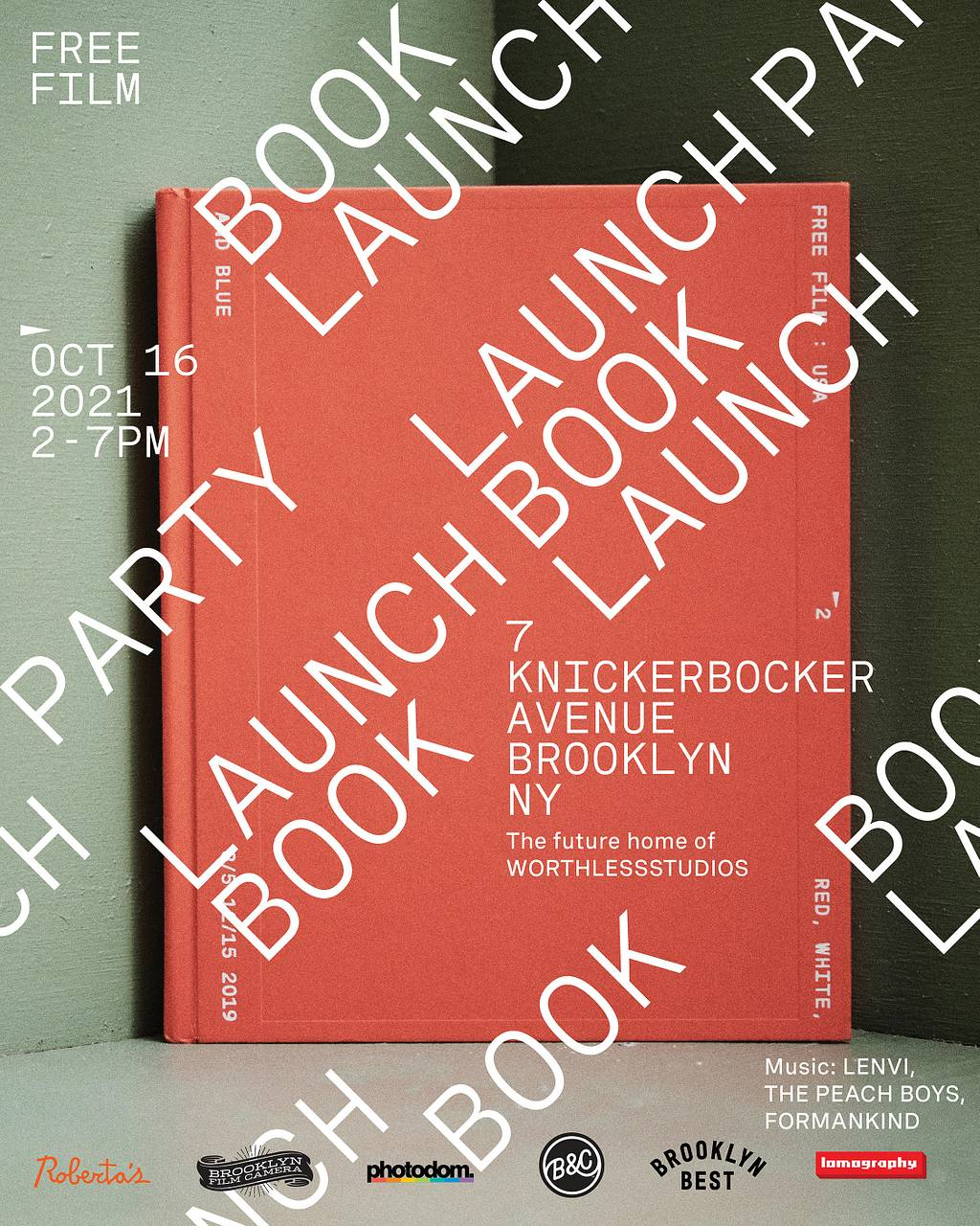 FREE FILM Book Launch
