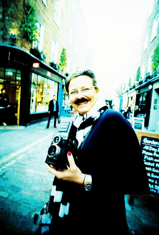 The Lubitel's Got it's Mo On for Movember @ Lomography Gallery Store Soho