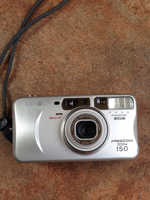 Found Film: Minolta Freedom Zoom 150