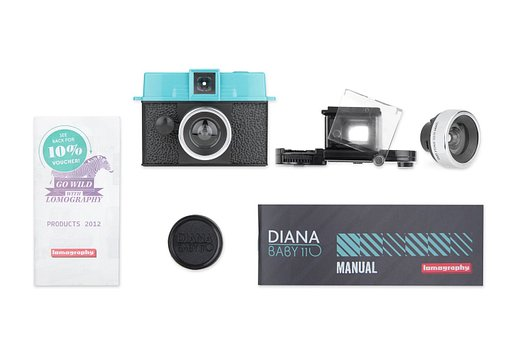 Pack Diana Baby 110 + objectif