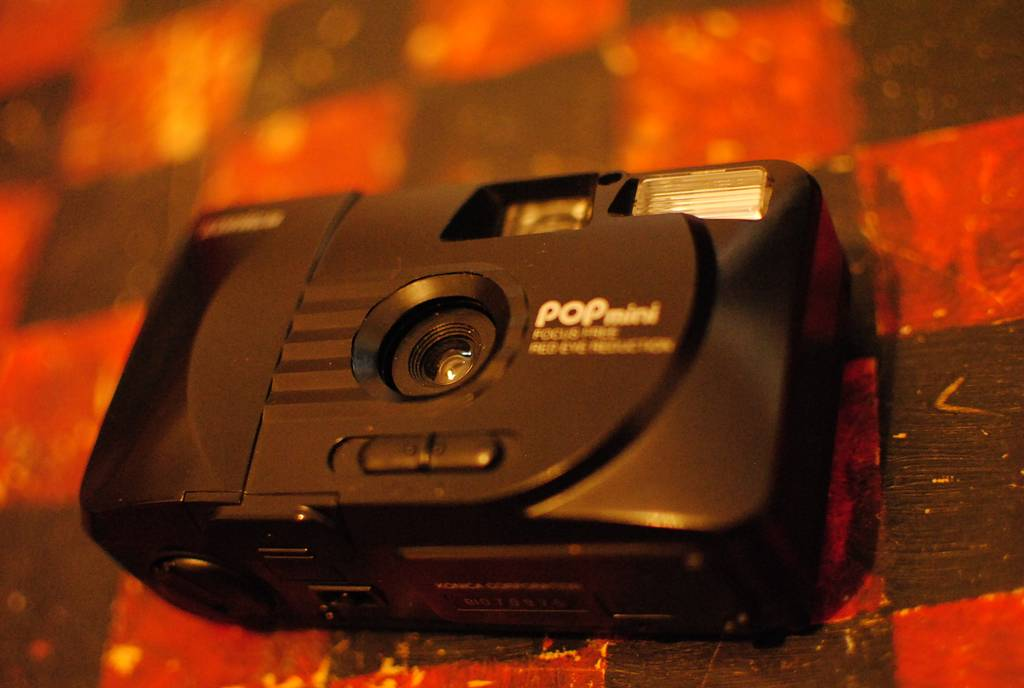 Konica Pop Mini: A Perfect Point-and-Shoot Camera