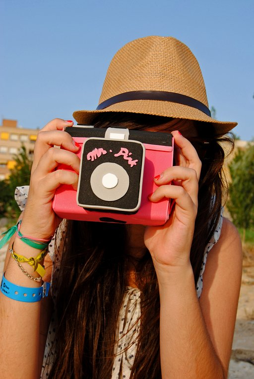 Diana F+ Camera Bag: Customized and Hand-Made!