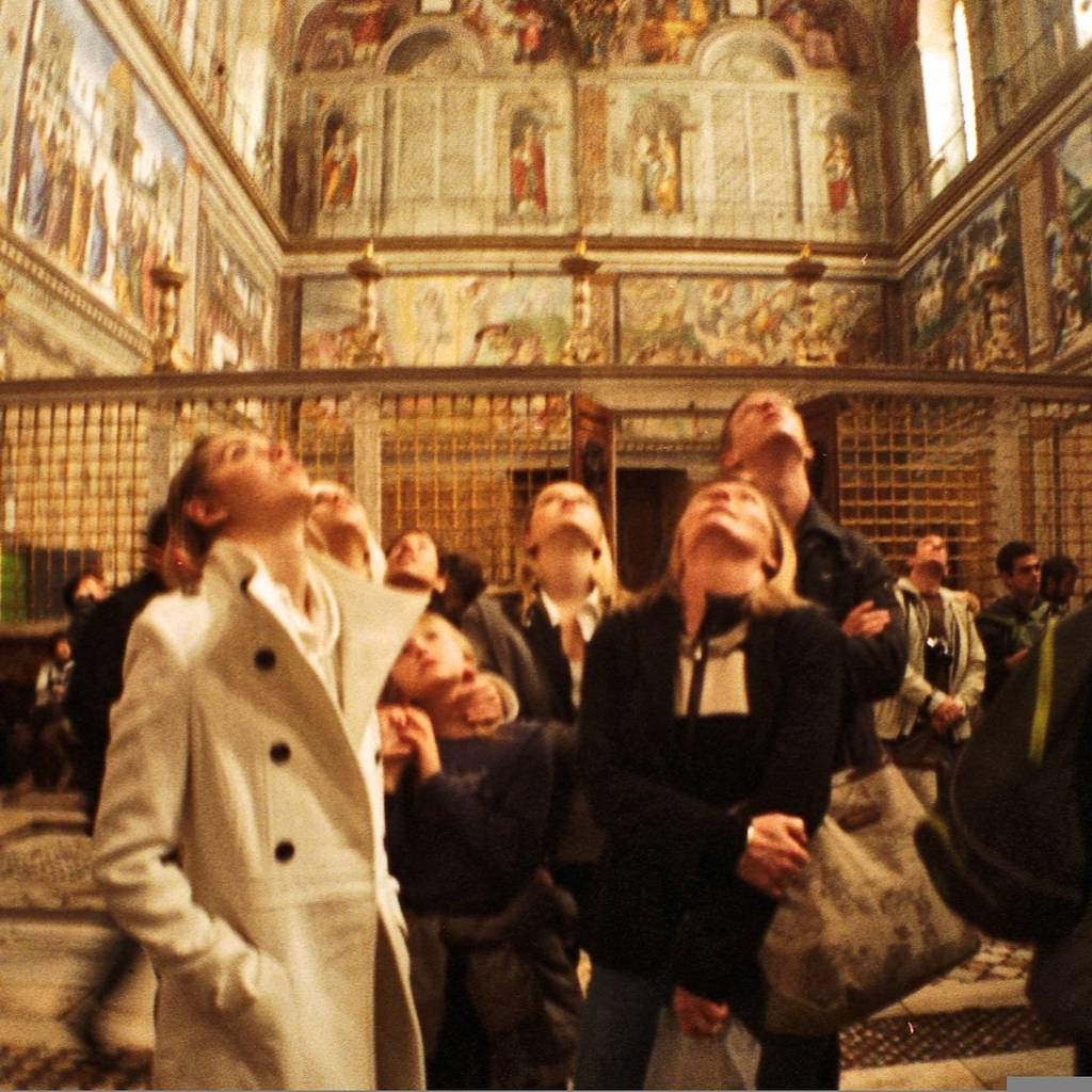 Shooting from the Hip in the Sistine Chapel