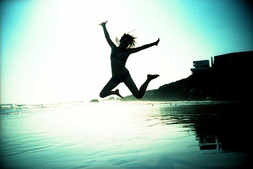 Twosday Tuesday: Jumping Silhouettes by Bodies of Water