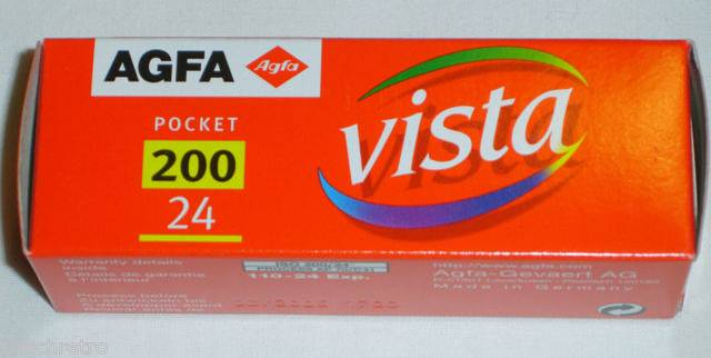 Agfa Vista 200 110: Back to my Childhood!