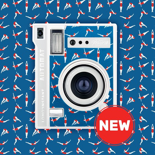 Start your Summer right with the new Lomo'Instant Automat Riviera!