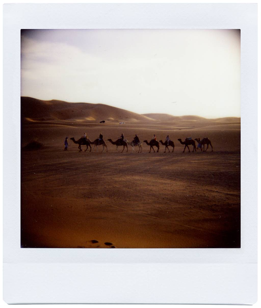 Traveling to Morocco with Photographer Edwin Chau and the Diana Instant Square
