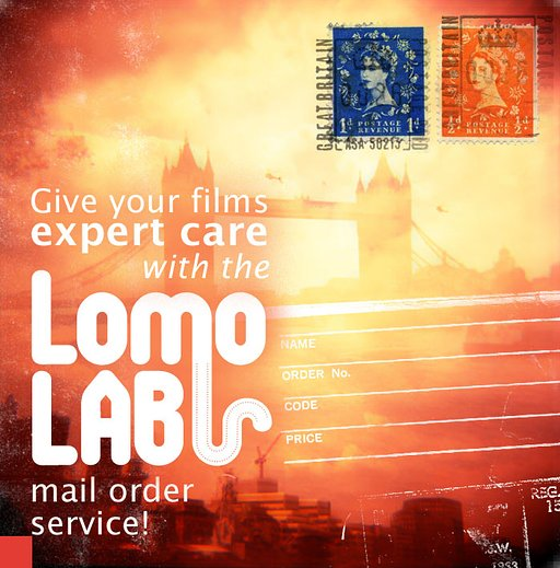 You can now process your films at the LomoLab, wherever you live in the UK!