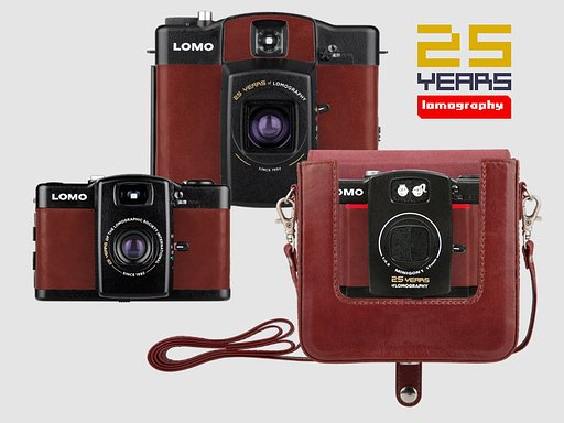 Celebrate 25 years of Lomography with the 25th Anniversary Editions of the Lomo LC-A family!