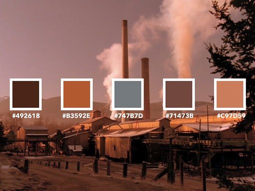 "Color By Numbers in ""Twin Peaks"""