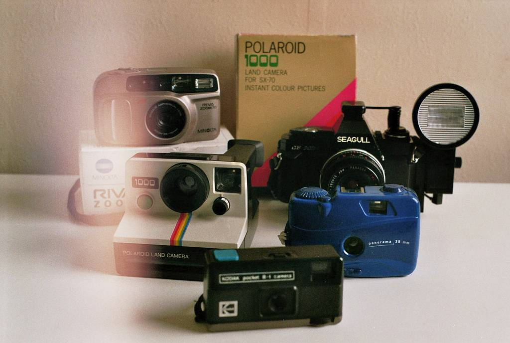 My Camera Collection from the Attic