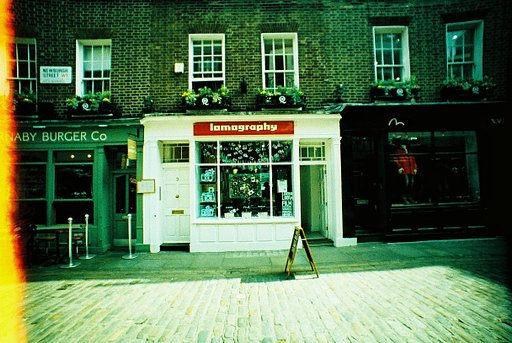 Lomography Soho London Workshops and Events in April 2016