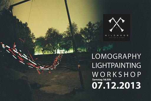 Light Painting Workshop @ Wild Wood Gallery & Store in Kassel
