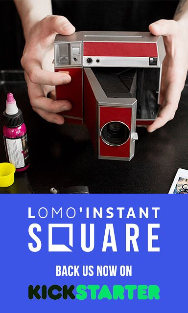 Introducing the Lomo'Instant Square! Back us on Kickstarter!