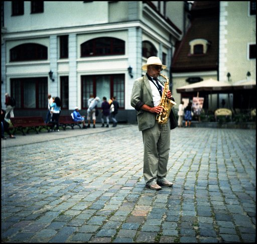 Analogue Day Activity: Stop and Listen to a Street Musician