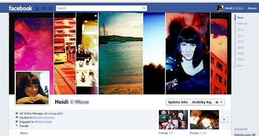 How to Make Your Facebook Profile Smokin' Hot with a LomoWall