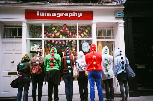Lomosaurs Hit London: A Lomowalk Recap