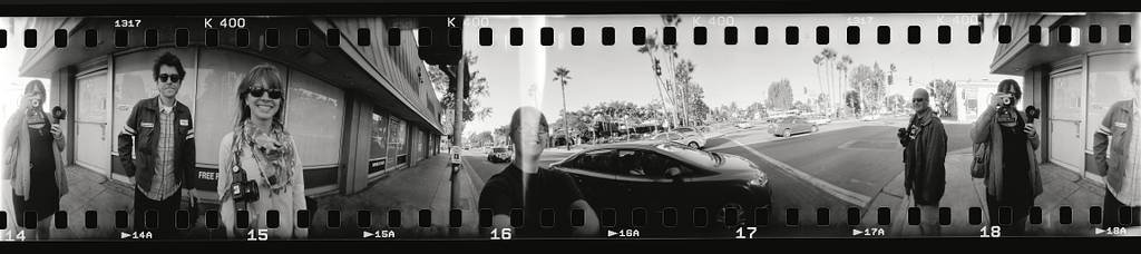 Re- Cap of White Out Black Friday: Sprockets & Spinning at the Lomography Gallery Store LA!