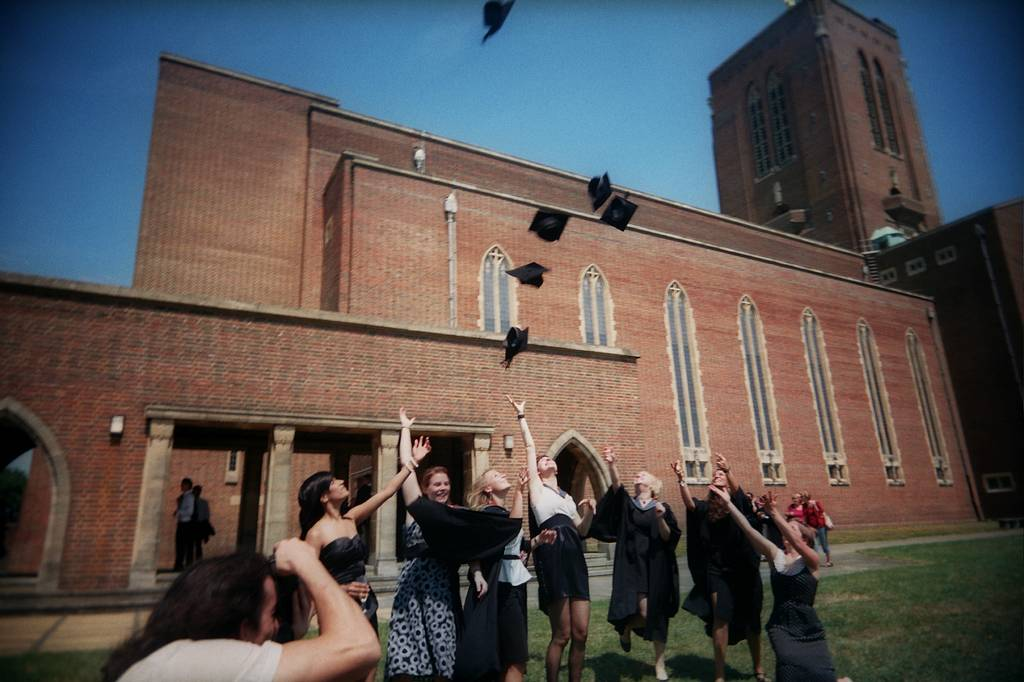 Graduation at Guildford Cathedral