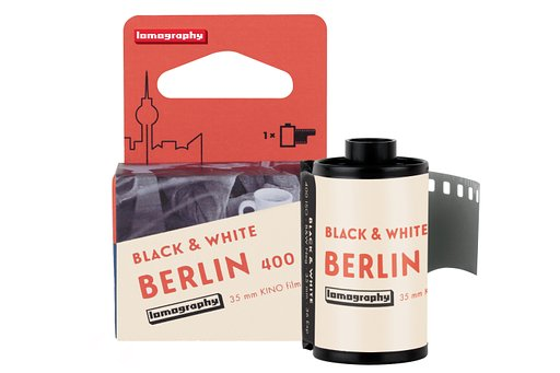 ฟิล์ม New B&W 400 35 MM Berlin Kino