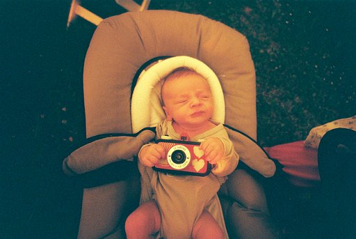 The youngest lomographer in the world !