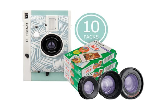Capture more for 20% less on Instax films when you purchase the Lomo'Instant Panama Bundles!