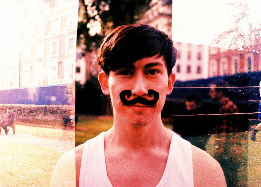 Month-long 'Grow that Mo' challenge @ Lomography Gallery Store Soho