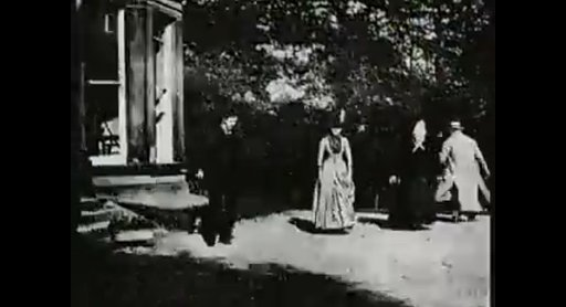 Today in History (1888): Louis Le Prince Films 'Roundhay Garden Scene'