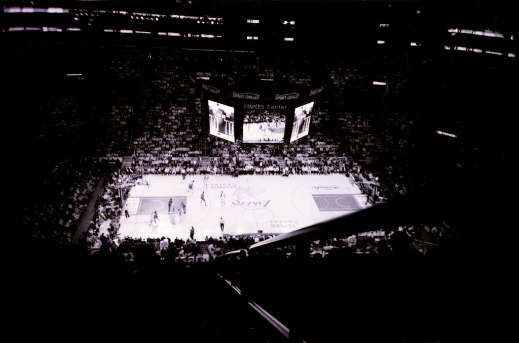 The Staples Center Home of the Lakers and MJ