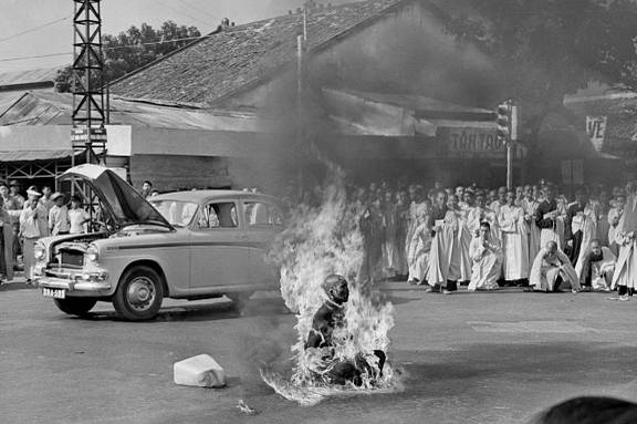 Influential Photographs: The Burning Monk, 1963 by Malcolm Browne