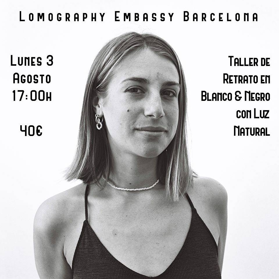 Black and White Photography Workshop with Lomography Embassy Barcelona