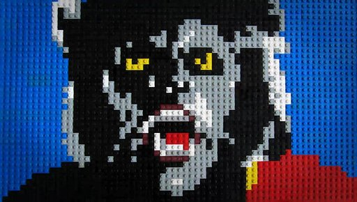Animator recreates 'Thriller' using Lego bricks!