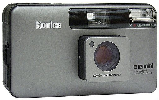 Lomopedia: Konica Big Mini