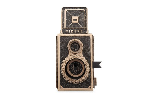 Handcrafted VIDERE Pinhole Camera Ready for Your Pinhole Images