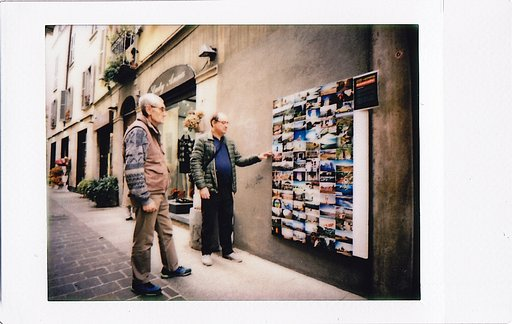 A Tribute to 25 Years of Lomography with my LomoWall in Como