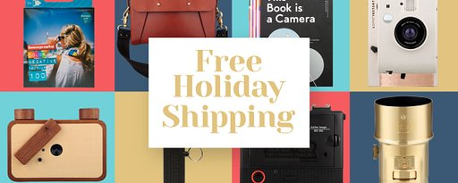Advent Calendar Deals - December 16th - Free Holiday Shipping for One Week!