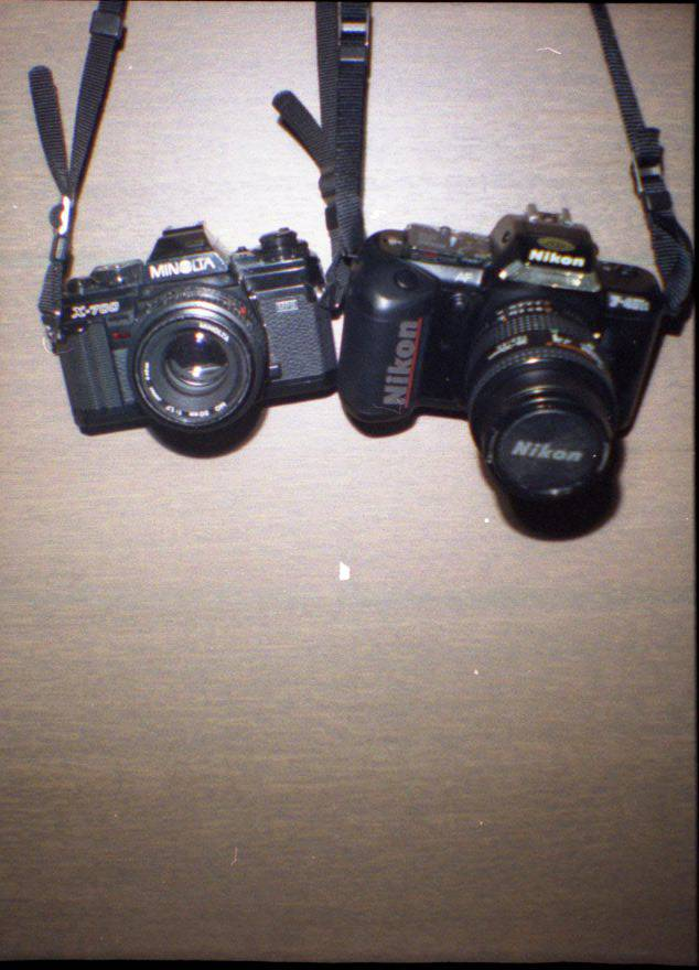 Perfect Combination: Minolta X-700 and Some Lovely X-Tungsten
