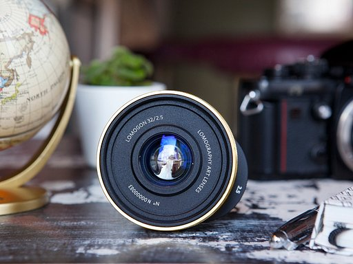 Get a 32 mm wide-angle view of the world with the new Lomogon 2.5/32 Art Lens