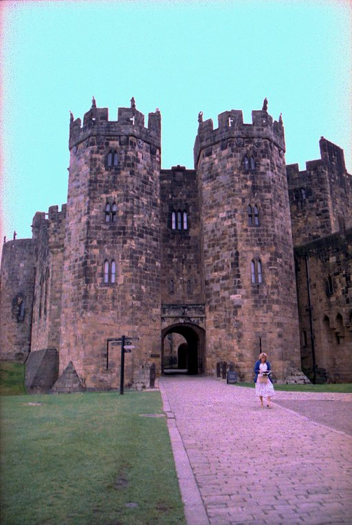 All The World's a Stage: Alnwick Castle, Northumberland, England
