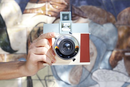Shake off Expectations and Let the Diana Instant Square Fill Your Frame